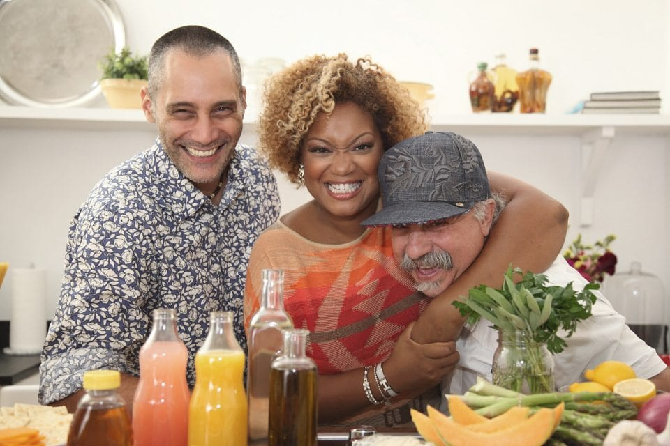 Producer Director Chris Valentino Sunny Anderson, Michael Falaso