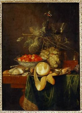 Louvre Still Life Peeled Lemon